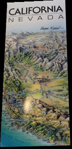 Karte Westküste
